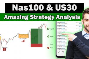 Nas100 Amazing Strategy Analysis 2021